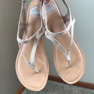 Fergalicious by Fergie Nude Sandals